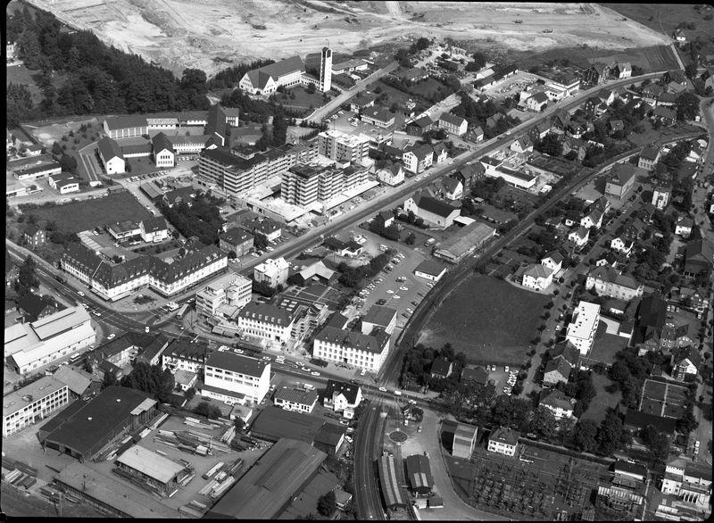 Kreuztal Innenstadt 1972