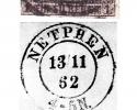 5-Post-u.-Dienststempel-Königl.-Preuß.-Post-Expedition-Netphen-im-19.-Jh.-Archiv-W.-L.