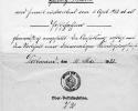 Anstellung-Heinrich-Schmick-als-Postschaffner-1922-Sammlung-W.-Lerchstein