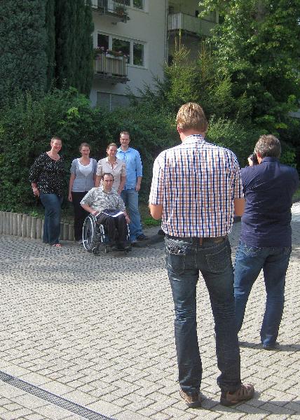 vorne. D. Hartauer, hinten: v. l.n.r. S. Schmidt (AWO), A. Hinkel, S. Schür (AWO),  Stefan Kummer