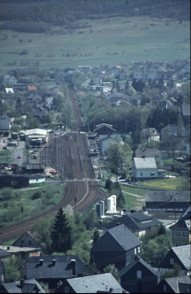 Die Strecke Betzdorf-Haiger, Richtung Haiger