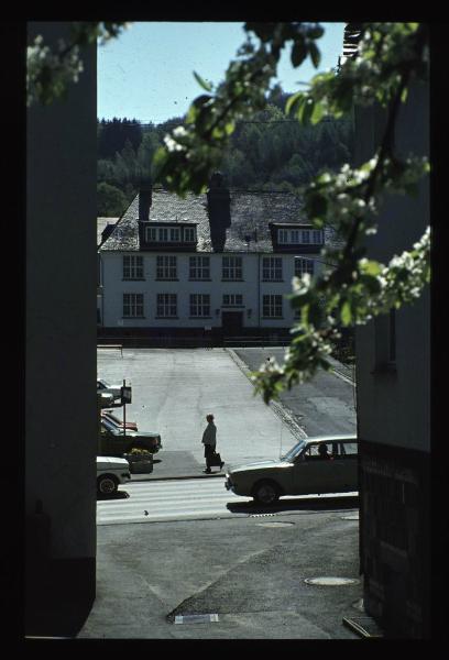 Teil der Grundschule mit Marktplatz