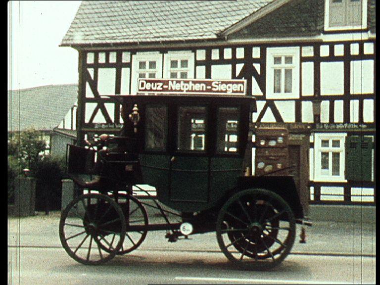 NAch des 1. Omnibuses auf der Strecke Netphen-Deuz
