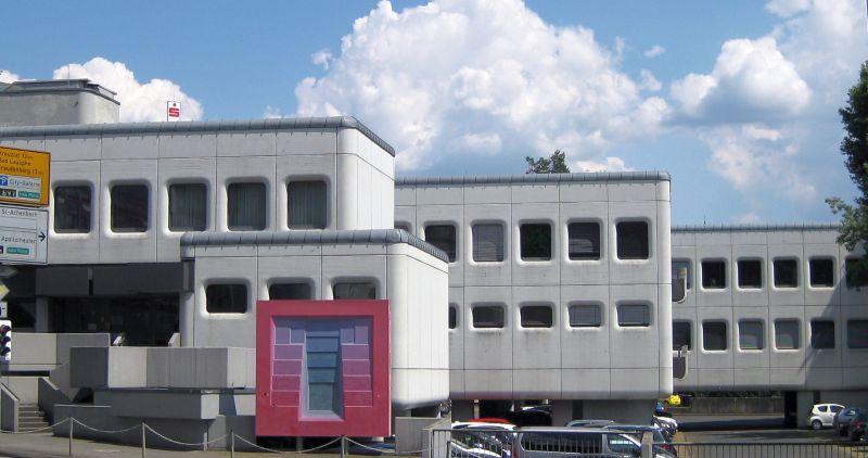 Architektur 1960 brutalismus im kreisgebiet landgericht siegen - Architektur siegen ...