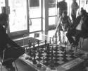 Schachspiel für Besucher im Foyer der Siegerlandhalle