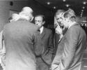 Mdl H. G. Vitt (Bildmitte links), Landrat Hermann Schmidt (Bildmitte rechts)gruendungunisi1