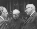 Rektor Artur Woll (links), IHK-Präsident Weiss (rechts)