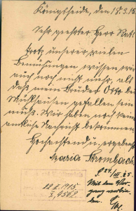 Aus: Bestand Wiesenbauschule, Gefallene WBS (1. Weltkrieg) (UASi WBS 156)