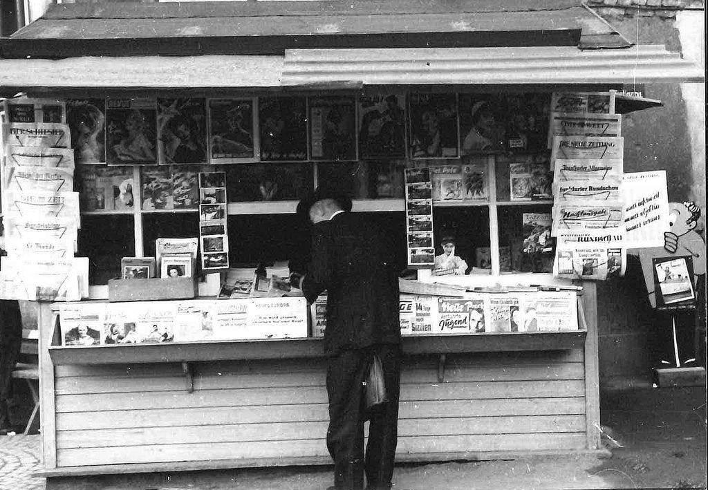Zeitungskiosk am Bahnhof Siegen