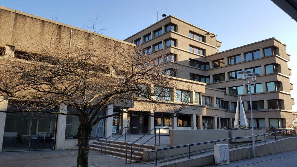 Architektur 1960 brutalismus im kreisgebiet rathaus siegen geisweid - Architektur siegen ...