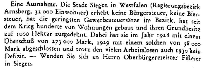 aus: Die Sonntags-Zeitung, Stuttgart, 1. März 1931